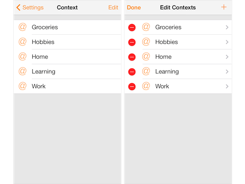 Routines - Add context to tasks
